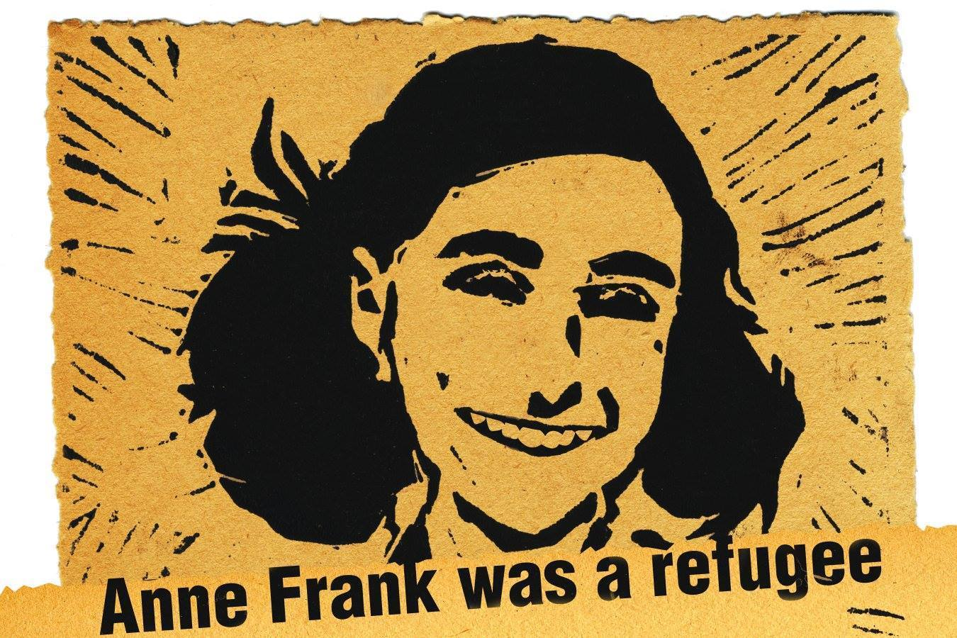 Anne Frank was a refugee