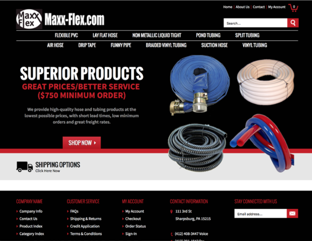 Maxi-Flex Webdesign