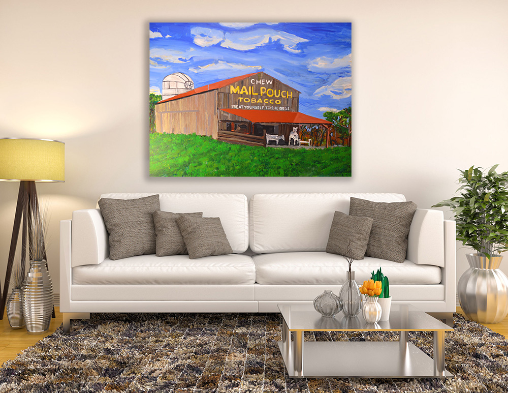 Mail Pouch Barn Painting